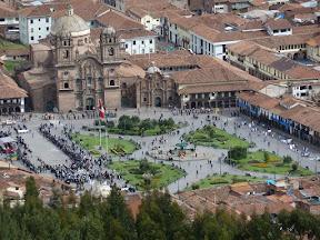 Place des armes de Cusco