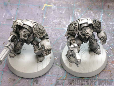 Deathwing terminator bone armour shadows