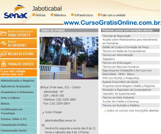 SENAC Jaboticabal