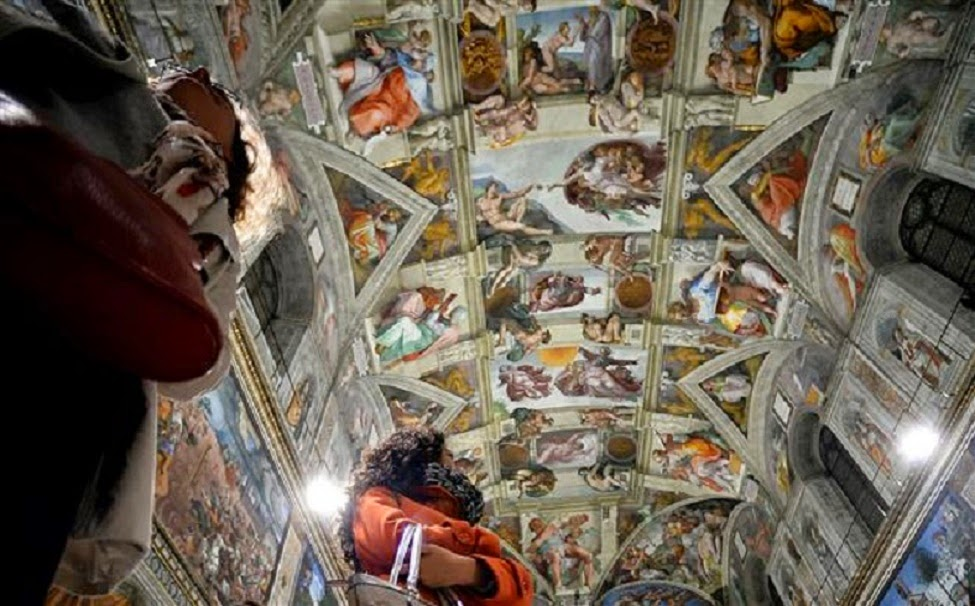 Southern Europe: Sistine chapel undergoes technological makeover