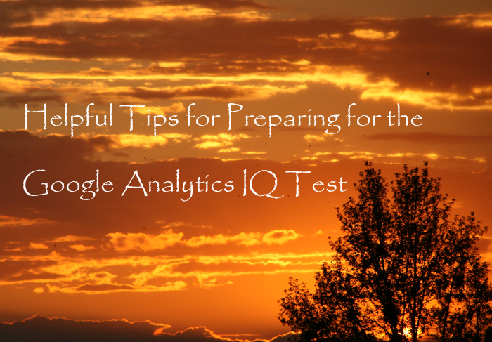 Google Analytics Individual Qualification (IQ) test