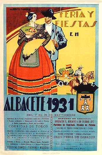Cartel Feria Albacete 1931