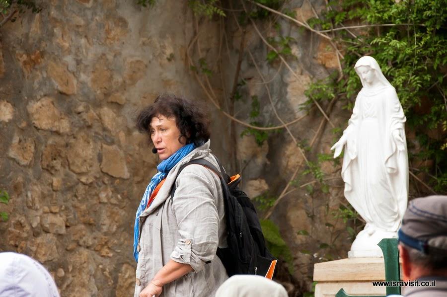 Гид в Израиле Светлана Фиалкова. Экскурсия в монастыре Сестер Сиона.