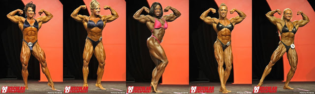 Ms. Olympia 2011 first callout