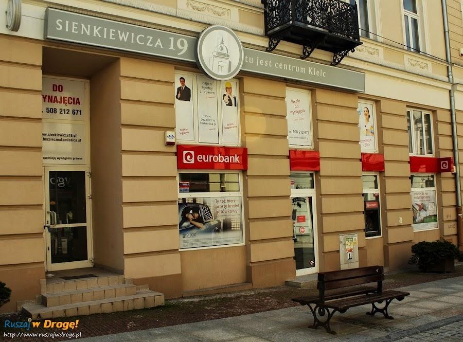 Centrum Kielc, a w centrum bank