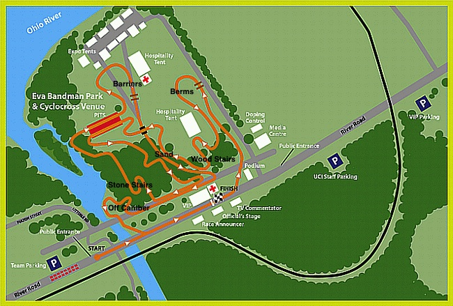 Louisville 2013 Course Map