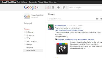 GoogleWatchBlog auf Google+