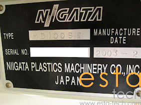 Niigata MD100S (2002-03) Electric Injection Moulding Machine
