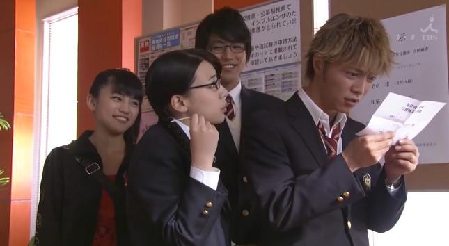 Kawaguchi Haruna, Naka Riisa, Koyanagi Yu, Narimiya Hiroki