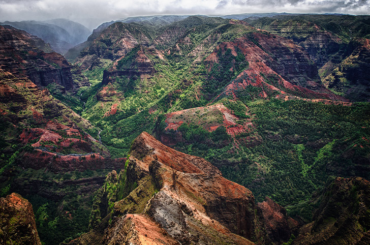 Waimea Canyon Hawaii (11 Beautiful Canyons in the US You Must Explore).