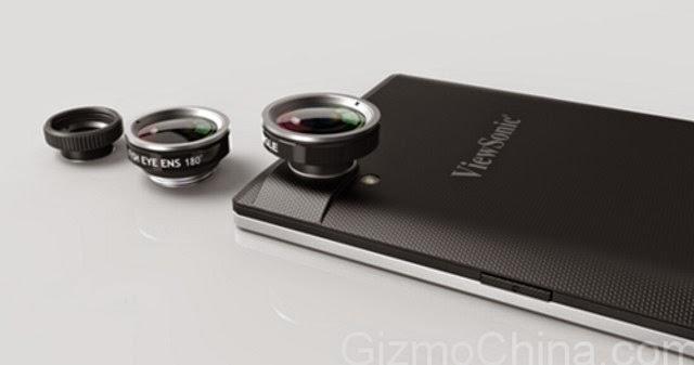 ViewSonic sắp ra V55, smartphone đầu tiên trên thế giới có máy quét mống mắt