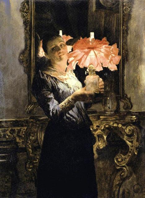 José Jiménez Aranda - Retrato de Mujer