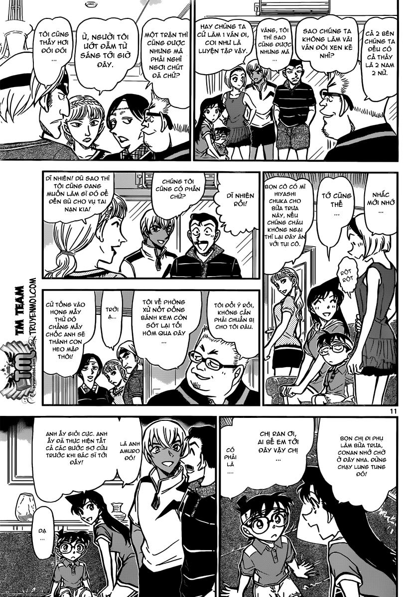 Conan Chap 825: Huấn Luyện Viên Đặc Biệt 11