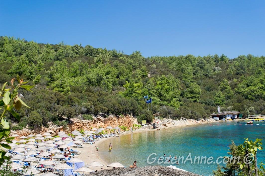 Bodrum Park Resort'tün rüya gibi denizi, Yalıçiftlik