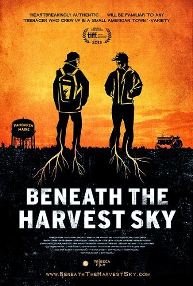 Poster Of English Movie Beneath the Harvest Sky (2013) Free Download Full New Hollywood Movie Watch Online At Alldownloads4u.Com