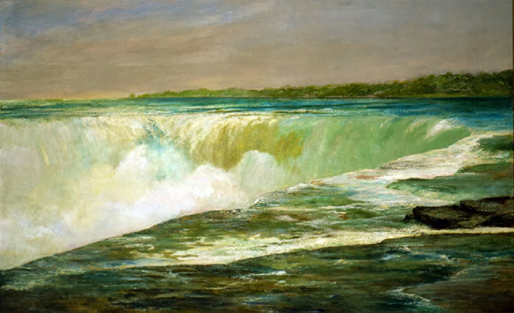 William Morris Hunt - Niagara Falls