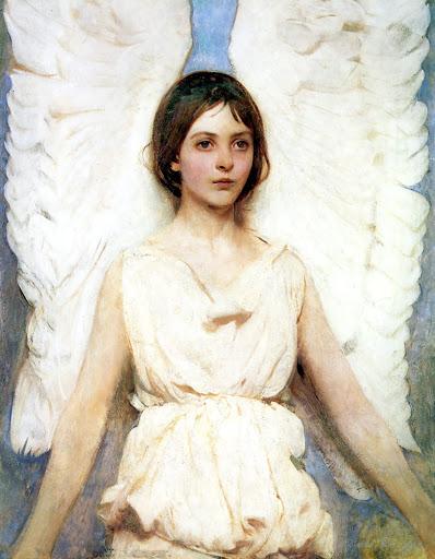 Abbott Handerson Thayer - Angel