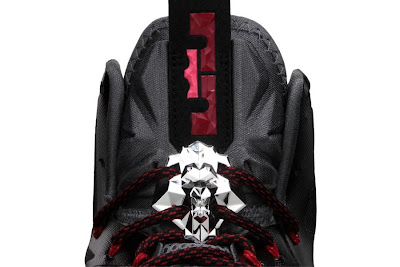 nike lebron 10 gr black white red 3 03 Nike LeBron X+ Enabled Pressure Available Now!