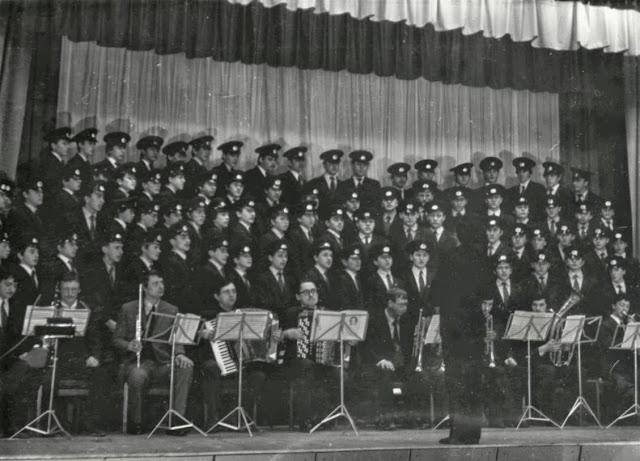 1975 рік. Однорідний хор юнаків. Керівник Марцінків Мирослав Іванович