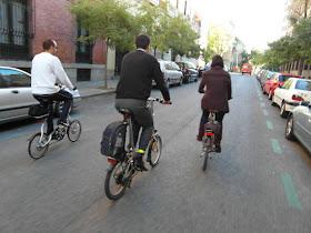 El Ayuntamiento se pone como objetivo aumentar la bici y caminar un 3% hasta 2020