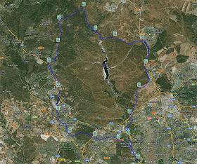 Vuelta al Pardo, sábado 25 de mayo de 2013 - Pincha para ver el mapa ampliado