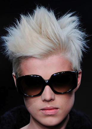Agyness Deyn Hair