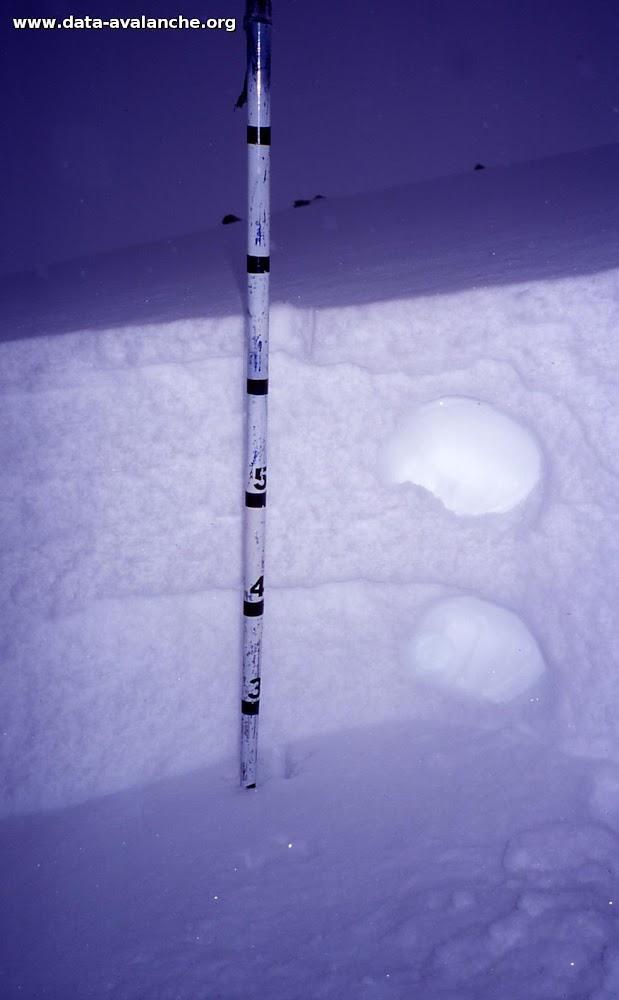 Avalanche Mont Thabor, secteur Punta Bagna, Hors-piste ligne éléctrique. - Photo 1