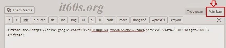 Cách nhúng tài liệu vào trang Web thông qua Google Drive 12