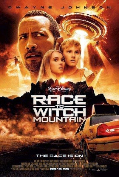 Poster Of Race to Witch Mountain (2009) Full Movie Hindi Dubbed Free Download Watch Online At alldownloads4u.com