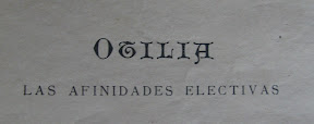 Detalle del capítulo dedicado a Otilia.