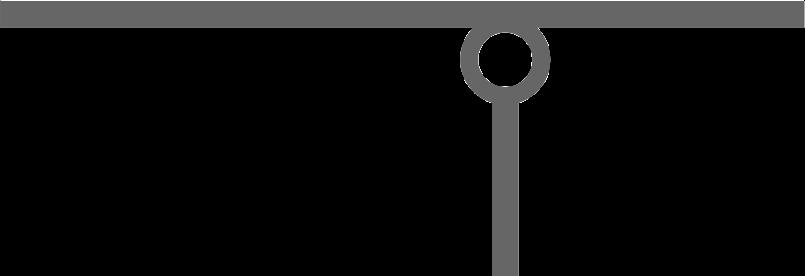 Шарнирное соединение 2х стержней