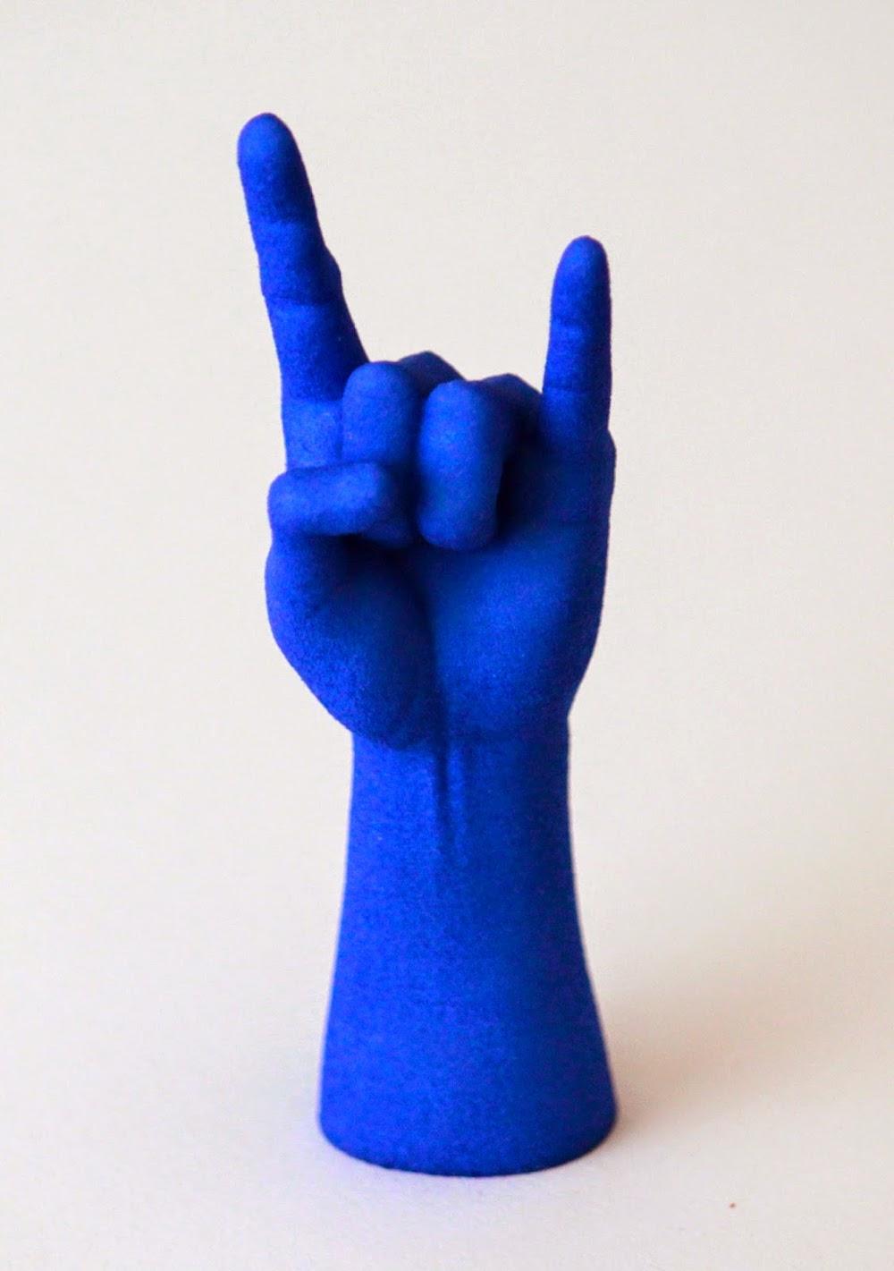 3D printed zombie metal hand
