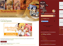 Anime Templates for Blogger: Naruchibi