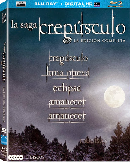 Pentalogia – Crepusculo (2008 2012) Torrent BDRip BluRay 720p Dual Áudio