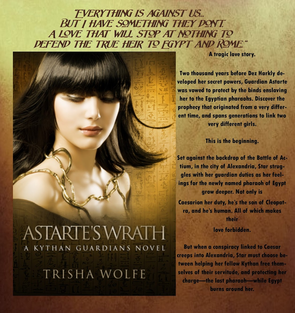 Book Blast: Astarte's Wrath by Trisha Wolfe
