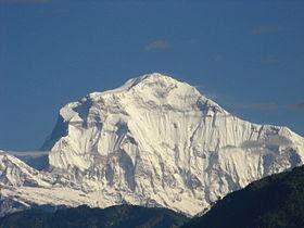 Dhaulagiri - 10 Gunung Tertinggi Dunia