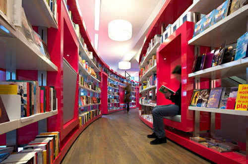 Paagman the Contemporist Bookstore Design