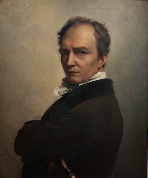François-Joseph Navez - Self-portrait
