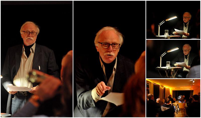 Axel Thormählen bei einer Lesung im Kulturladen St.Georg, Hamburg, im November 2012