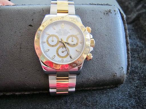 Bán đồng hồ rolex daytona cosmorgaph 6 số 116523 – Đè mi vàng 18k – Mặt trắng – Size 40mm – Máy 4135