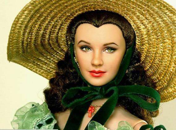 унесенные ветром – кукла скарлетт о'хара (вивьен ли) (2) – ноэль круз