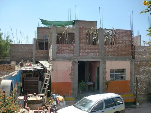 Casa graficos antes de techar