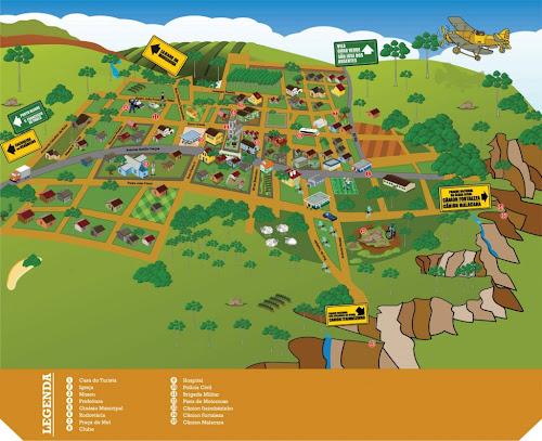 Mapa de Cambará do Sul