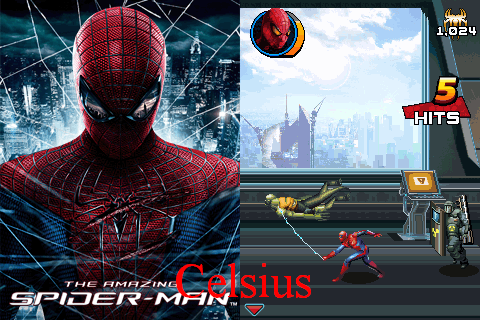 Games Java The Amazing Spider Man  (128×160 )