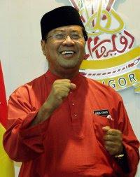 Tan Sri Abdul Khalid Ibrahim menteri besar selangor