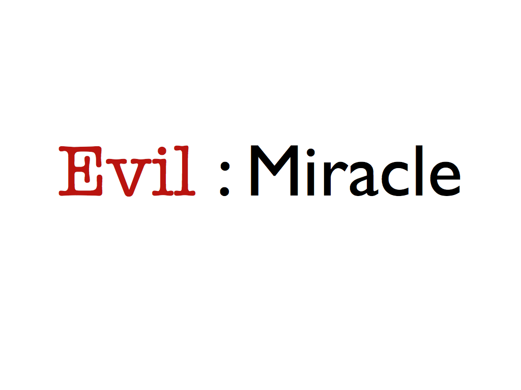 "miracle definition essay A common approach is to define a miracle as an interruption of the order or course of nature he ends the first part of his essay ""of miracles"" with a general."