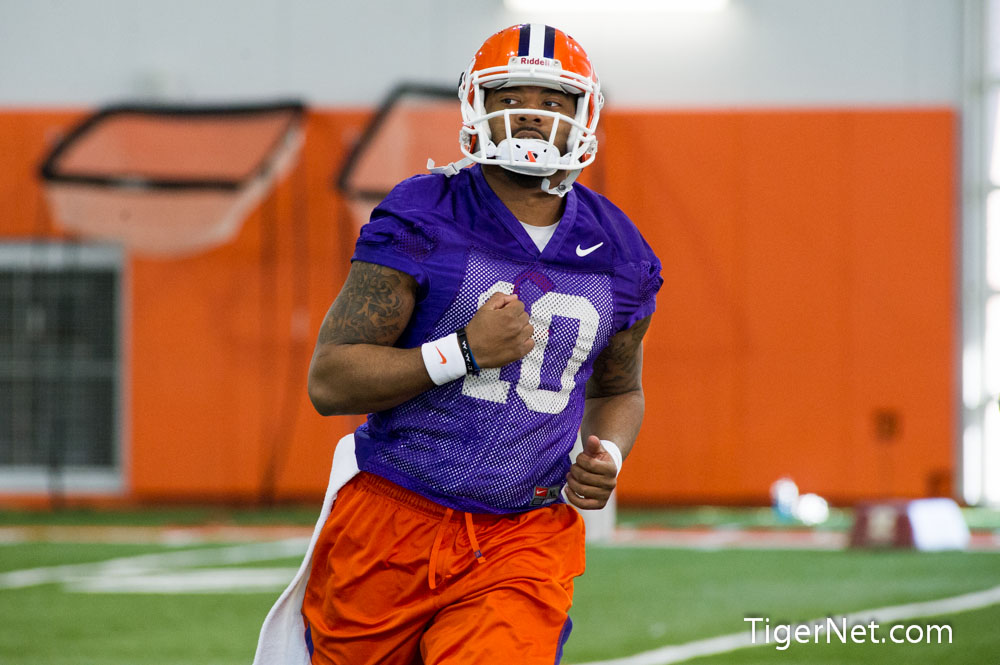 Spring Practice #1 - 2013 Photos - 2013, Football, Practice, Tajh Boyd