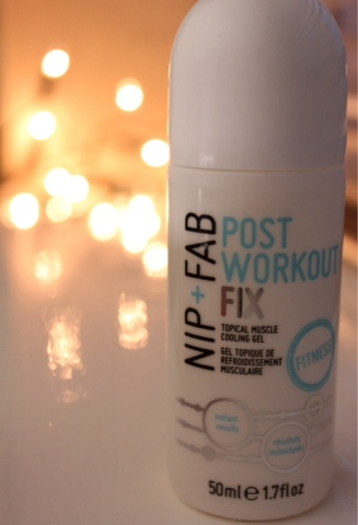 Nio & Fab post workout gel