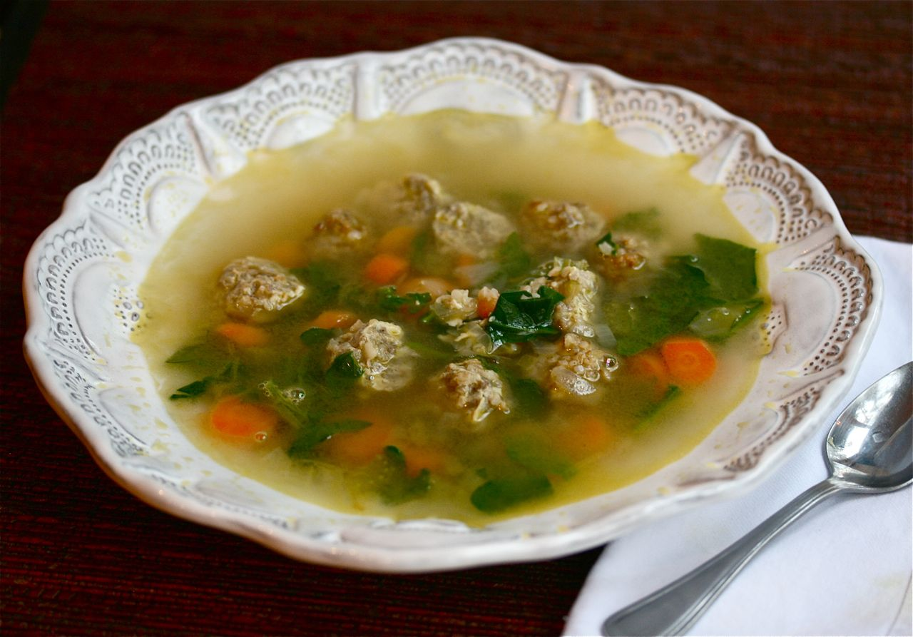 Vita Nostra Italian Wedding Soup
