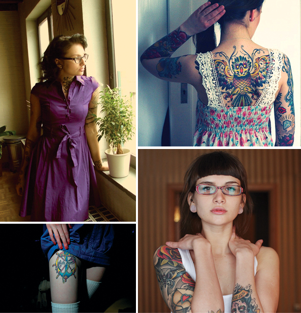Girls With Tattoos Tumblr. girls with tattoos,